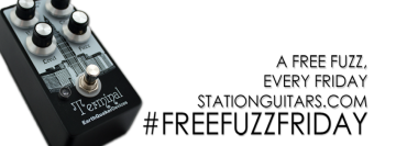 StationGuitars.com is giving away a free fuzz pedal on every Friday until the end of June.